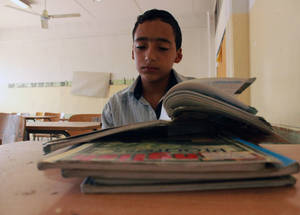 """I left school and started working in a small coffee shop in Nahr el-Bared. My school teachers and administration did not like the situation and intervened to find the reasons behind my drop out and work on addressing it,"" says Iyad. © 2016 UNRWA Photo by Maysoon Mustafa."