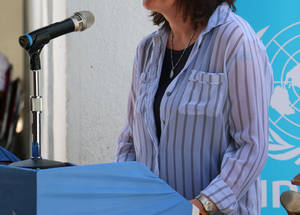 """The construction of Zohour school is vital, replacing two rented buildings where four schools are accommodated,"" said UNRWA Deputy Commissioner-General Sandra Mitchell. ""The current buildings lack necessary facilities, which compromise teachers' and students' ability to completely engage with each other. The new American-funded school buildings will be well ventilated, allowing natural light in the classrooms, and fully equipped  with computer laboratories, science laboratories, libraries and playgrounds."""