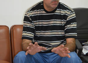 """The main improvement after engaging in School-Based Teacher Development (SBTD) I was the change from individual work to group work, which produced much more effective results in the classroom,"" says Aziz al-Falouji, a math teacher at Nuzha Preparatory 1 Boys School in Jordan. ""I now engage the students in identifying the key objectives for the class and support them in realising them. Today, I teach my students how to find solutions to problems, through independent reading and research."" © 2016 UNRWA Photo"