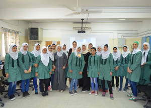 "When asked why they thought human rights education was important, a group of students from the Amir Hasan School in Jordan responded, ""It is important to know about your rights and responsibilities, as well as how to deal with others. Through these activities, we have learned that you should not negatively judge people, that initial impressions should not be lasting and that you should keep your impressions to yourself. People can be better than we initially think."" © 2016 UNRWA Photo by Natacha Bazin"