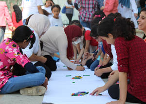 """There are few other alternatives for these students to play in the summer,"" explains Sireen Duweikat, the school principal at the Askar Girls' School. ""Without these activities, many of them would have to play in the streets, which can be dangerous, or they would not have space to practice their hobbies."""