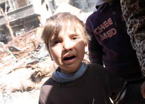 صبيحة يوم في مخيم اليرموك