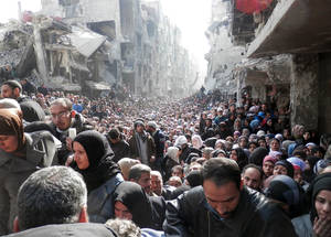A Morning in Yarmouk