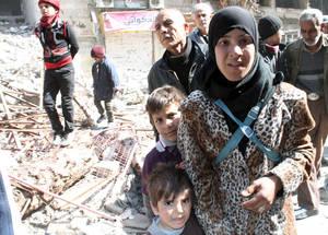 هل لنا أن نقبل ذلك؟ معاناة اليرموك