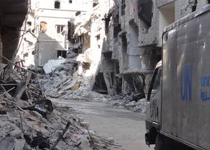 Yarmouk: 17 Days Without Food