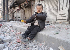 Seeing the Impact of UNRWA Aid in the Eyes of Yarmouk Residents
