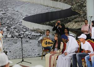 البابا فرانسيس يزور الضفة الغربية