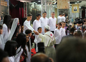Pope Francis Visits the West Bank