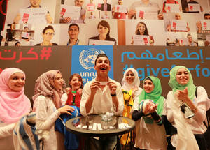 UNRWA Advisory Commission Meeting, June 2014. © 2014 UNRWA Photo by Alaa Ghoseh
