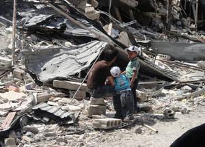 Life in Yarmouk