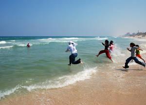 ألعاب الصيف في غزة