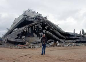 لقطات للحياة في غزة