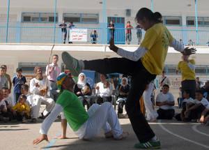 رقصة الكابويرا تساعد الأطفال المتضررين من النزاع