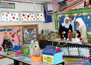 "Over the past three years, UNRWA has implemented three programs in Gaza. The ""Supporting Access to Education and Mitigating Psychosocial Effects of Armed Conflict on the Palestine Refugee Student Population"" was launched in 2014.  Totalling US$ 3 million, the program provided 175, 809 children enrolled in 151 UNRWA primary schools weekly arts and sports classes. © 2019 UNRWA Photo by Khalil Adwan"