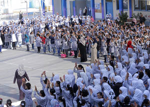 Around 2,570 Palestine refugee children were granted access to quality education in Gaza. The contribution also covered the cost of learning materialls and supported the operational costs of several schools in Gaza and North governorates. © 2019 UNRWA Photo by Khalil Adwan