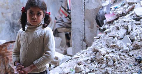 Girl in Qabr Essit. © 2014 UNRWA Photo by Taghrid Mohammed