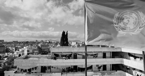 مأوى الراما الجماعي، جرامانا، كانون الثاني 2013. الحقوق محفوظة للأونروا