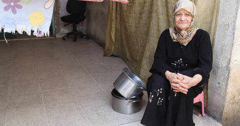 The protracted conflict has had a devastating impact on civilians, particularly on the most vulnerable. The EU helps UNRWA provide regular assistance to vulnerable Palestine refugee families who have been profoundly affected by four years of crisis. Haifa School collective shelter, April 2015. © 2015 UNRWA Photo by Taghrid Mohammad