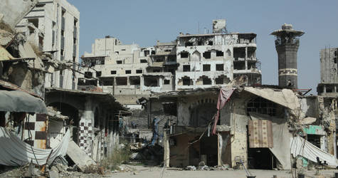 Over five years of conflict has devastated Syria and its communities. Homs, Syria, September 2015. © 2015 UNRWA Photo by Taghrid Mohammad