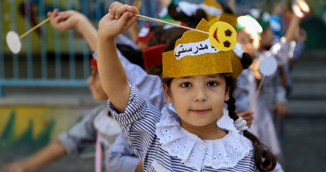 Through innovative approaches, such as the UNRWA Self-Learning Programme, EiE response helps ensure that Palestine refugee children can continue to access quality education and learning opportunities, even in times of crisis and conflict. ©2017 UNRWA Photo by Rushdi El-Saraaj.