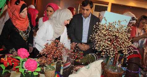 Ramadan Charity Bazaar in Damascus. © 2015 UNRWA Photo