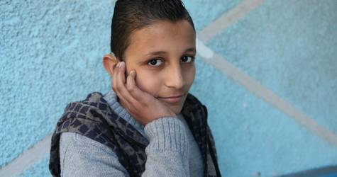Ali Samer Hussein from Jaramana camp, Syria. ©2016 UNRWA Photo by Taghrid Mohammad