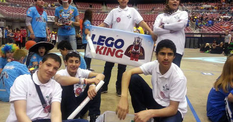 Lego Kings Shine in the United States