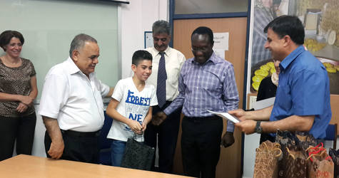 Palestine Refugees Pass the Test