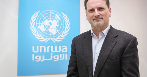 UNRWA Commissioner General Pierre Krähenbühl. © 2017 UNRWA Photo by Marwan Baghdadi