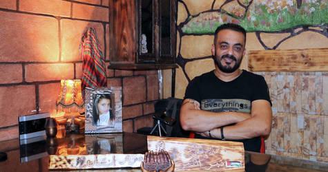 نمر نمر، مدير مركز أنسان في مخيم برج البراجنة – لبنان. الحقوق محفوظة للأونروا 2017، تصوير فراس أبو علول