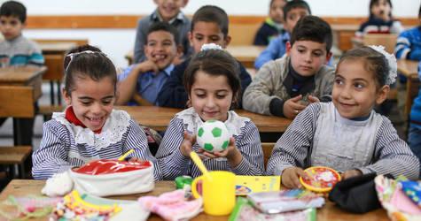 Students in UNRWA school. © 2017 UNRWA Photo by Rushdi Al-Sarajj