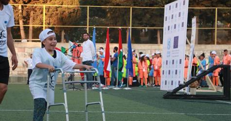 UNRWA launches the 11th Palestiniadi Games in Beirut, Lebanon. © 2019 UNRWA Photo by Rabie Akel