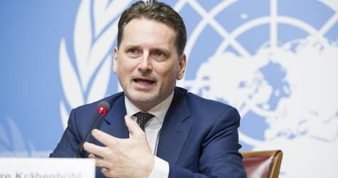 المفوض العام للأونروا بيير كرينبول. الحقوق محفوظة للأمم المتحدة 2019. تصوير فيولين مارتن