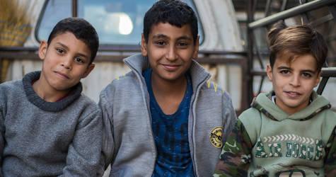 أطفال لاجئي فلسطين في الذيابية ، ريف دمشق ، سوريا. الحقوق محفوظة للأونروا ، 2018. تصوير براء العالم