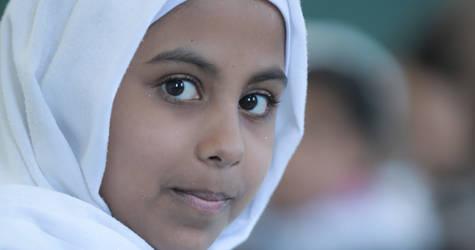 "Occupied Palestinian Territory Emergency Appeal 2019Nada Al-Udaini attends class at the UNRWA Deir al Balah Elementary Girls School ""A"" in Gaza. © 2018 Photo by Hussein Jaber"