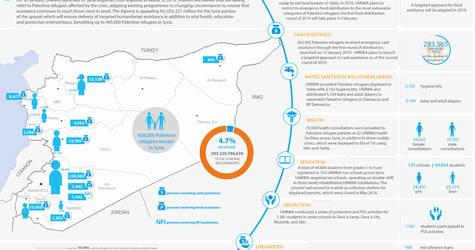 Syria: UNRWA - Humanitarian Snapshot, January 2019