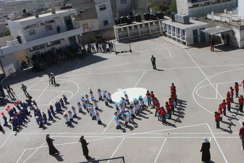 Kalandia Boys SchooL, West Bank, August 2011 © Ala'a Ghosheh / UNRWA Archives