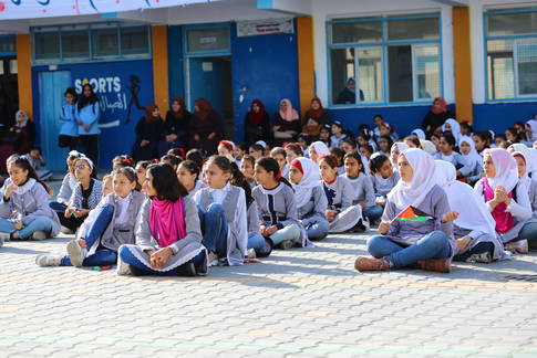 The 16 Days Campaign activities against GBV. © 2019 UNRWA  photo by Khalil Adwan