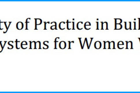 Community of practice in building referral systems for women victims of violence