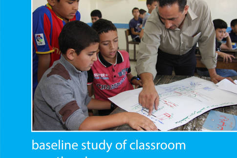 Baseline study of classroom practices in UNRWA elementary schools