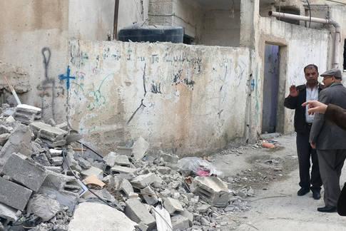 ملاحظات الأونروا لعمليات الهدم العقابية في مخيمات اللاجئين في الضفة الغربية، الأراضي الفلسطينية المحتلة