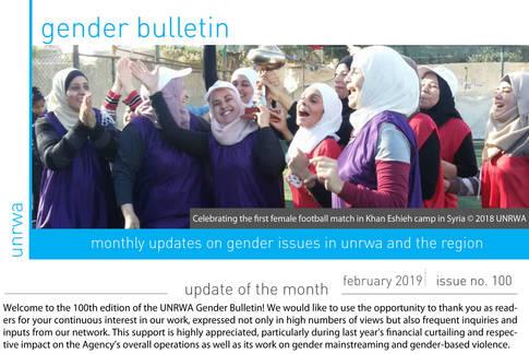 Gender Bulletin 100