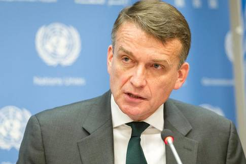 Acting UNRWA Commissioner-General Mr. Christian Saunders