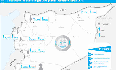 Syria: UNRWA - Palestine Refugees Demographics - Verification Exercise 2016