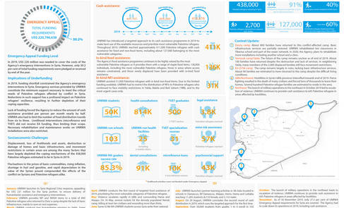 Syria: UNRWA - Achievements and Highlights in 2019