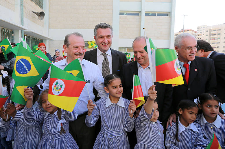 Brazil provides UNRWA with rice supply for 2013
