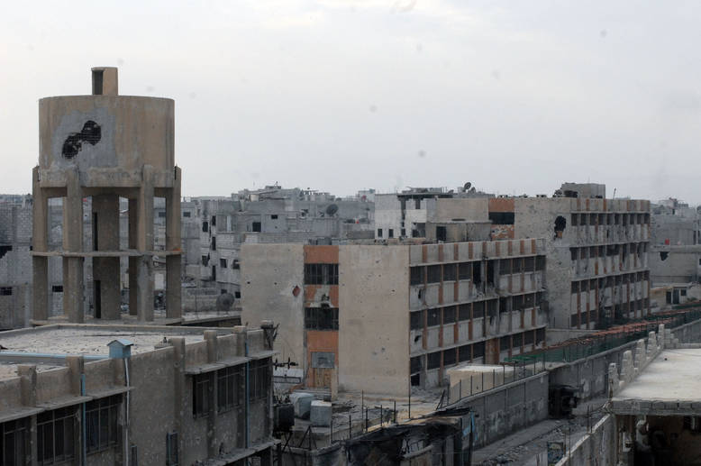 Caption: Spring 2015 will mark the fourth anniversary of the armed conflict in Syria. Qabr Essit, Damascus.  © 2014 UNRWA Photo by Taghrid Mohammad