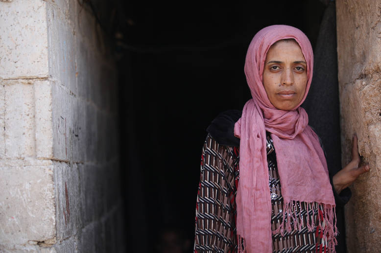 The vulnerability of Palestine refugees in Syria has never been greater. After five years of bitter conflict, they have exhausted their financial, emotional and physical reserves. Women, children, the disabled and the elderly are at particular risk. © 2015 UNRWA Photo by Taghrid Mohammad.