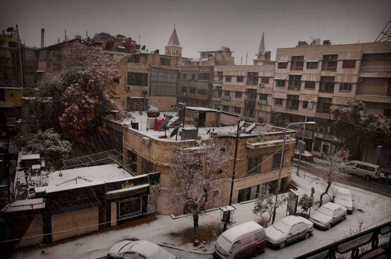 Into the Cold in Syria