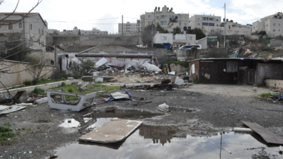 A Palestine refugee family of ten, including eight children, was forced to self-demolish its home in Beit Hanina in East Jerusalem in October 2019 after the Israeli military issued a demolition order with a threat of imprisonment unless the demolition was carried out. The house had been the family home since the early 1980s, leaving the family with extensive psychological trauma, in addition to the loss of shelter and personal belongings.